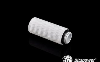 40mm  Spacer Adapter Male/Female  - Deluxe White