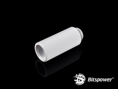 40mm  Spacer Adapter Male/Female  - Deluxe White-2