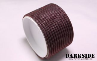 "5/32"" (4mm) DarkSide HD Cable Sleeving - Lava Red"