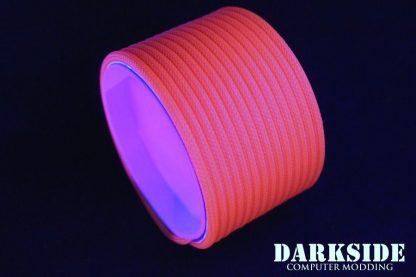 """5/32"""" (4mm) DarkSide HD Cable Sleeving - Orange UV-3"""
