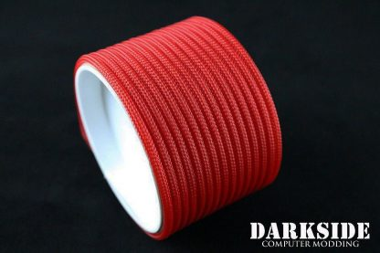 "5/32"" (4mm) DarkSide HD Cable Sleeving - Red UV-2"