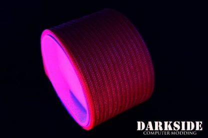 "5/32"" (4mm) DarkSide HD Cable Sleeving - Red UV-3"