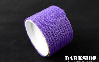 "5/32"" (4mm) DarkSide HD Cable Sleeving - Purple UV"
