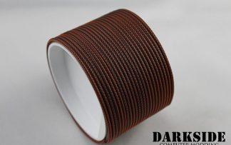 """5/64"""" ( 2mm ) DarkSide High Density Cable Sleeving - Predator-4"""