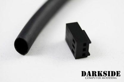 """3:1 DARKSIDE Adhesive Heatshrink Tubing - 4.8mm 3/16""""  Jet Black-2"""