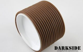 "5/32"" (4mm) DarkSide HD Cable Sleeving - Arabica"