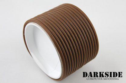 "5/32"" (4mm) DarkSide HD Cable Sleeving - Arabica"