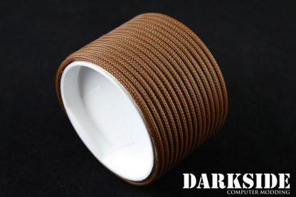 "5/32"" (4mm) DarkSide HD Cable Sleeving - Arabica-2"