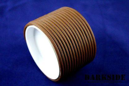 "5/32"" (4mm) DarkSide HD Cable Sleeving - Arabica-3"