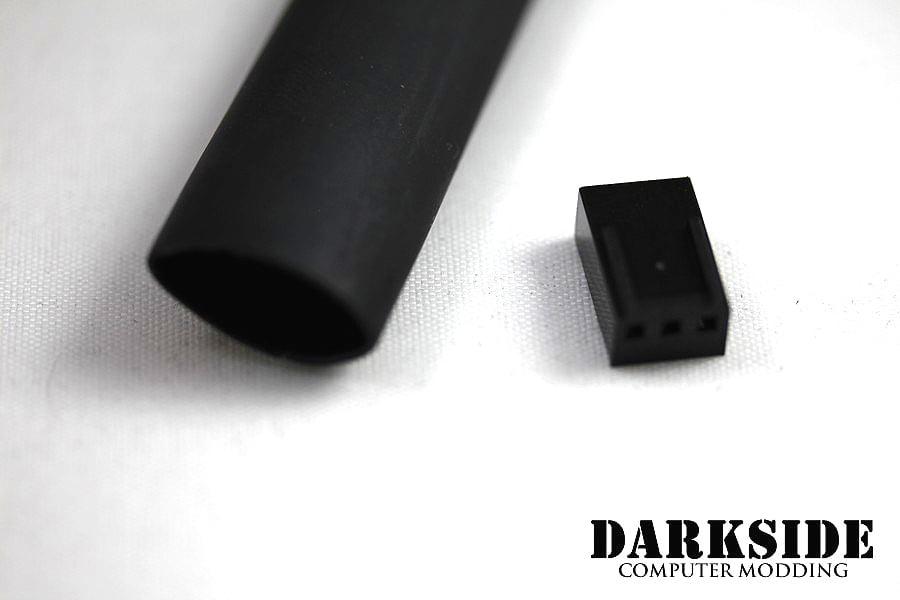 """4:1 Adhesive Heatshrink Tubing 12mm  15/32"""" - Jet Black"""