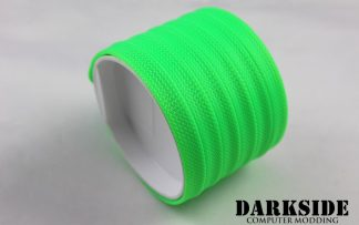 10mm HD SATA Cable Sleeving - UV Green