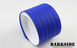 10mm HD SATA Cable Sleeving - UV Dark Blue