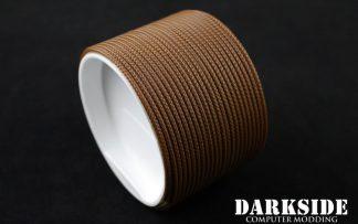 "5/64"" ( 2mm ) DarkSide HD Cable Sleeving - Arabica"