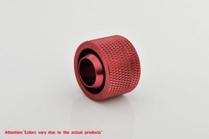 """1/2""""ID  3/4""""OD Straight Compression Fitting - Blood Red-3"""