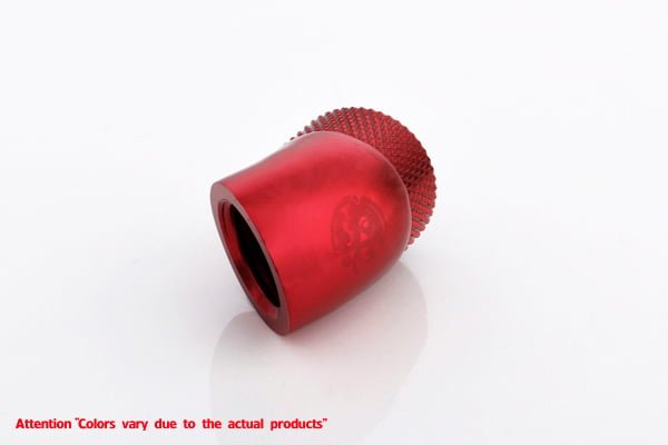30 Degree Double Rotary Adapter M/F G1/4 - Red