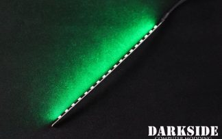 """7.5"""" ( 20cm ) Dimmable Rigid LED Strip V2 - Green - FIXED 3P CABLE"""