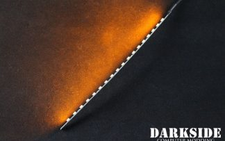 """7.5"""" ( 20cm ) Dimmable Rigid LED Strip V2 - Orange - FIXED 3P CABLE"""