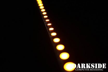 """7.5"""" ( 20cm ) Dimmable Rigid LED Strip V2 - Orange - FIXED 3P CABLE-4"""