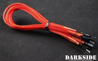 DARKSIDE Front Panel I/O connection kit - Red UV-2