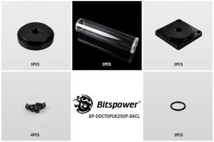 Dual / Single DDC Top Upgrade Kit 250 (Black POM Cap)-2