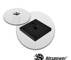 Dual/Single D5 TOP Reservoir Adapter (Black POM)