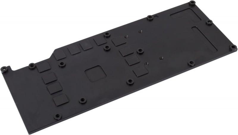 Back plate for kryographics GTX Titan