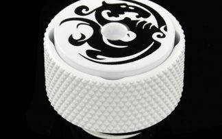 AIR-Exhaust Fitting - Deluxe White