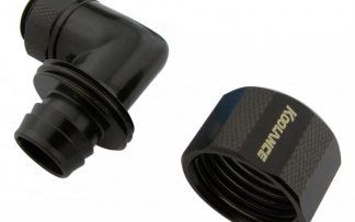 90-degree Swivel Angled for 13mm x 19mm (1/2in x 3/4in) *Black*