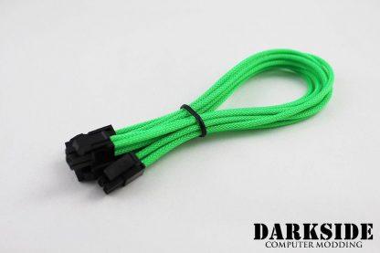 "4+4 EPS 12"" (30cm) HSL DarkSide Single Braid Cable - Green UV-3"