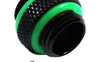 5mm Spacer Extender Adapter - G1/4 Male/Male - Matt Black