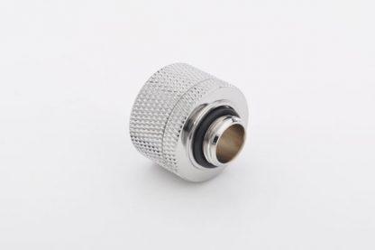 "1/2""ID - 3/4""OD Straight Compression Fitting - Silver BP-CPF-CC5-2"