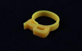 """3/4"""" OD Reusable Clamp - Yellow"""