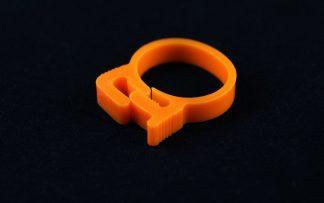 "3/4"" OD Reusable Clamp - Orange"