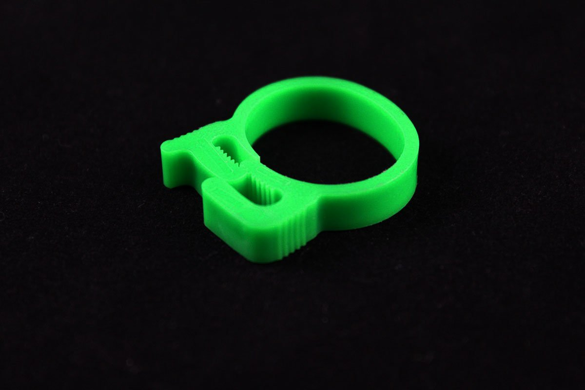 "3/4"" OD Reusable Clamp - Green"
