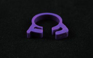 """5/8"""" OD Reusable Clamp - Purple"""
