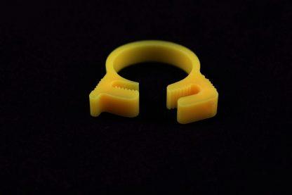 """5/8"""" OD Reusable Clamp - Yellow"""