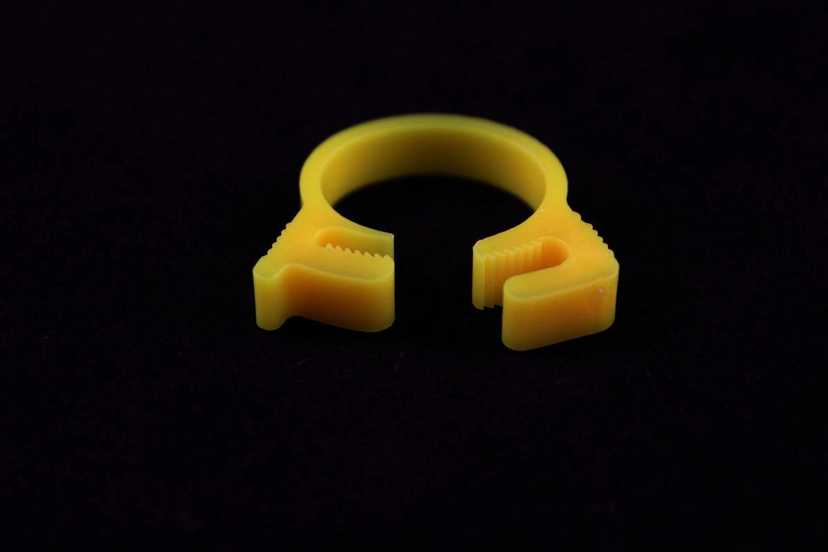 "5/8"" OD Reusable Clamp - Yellow"