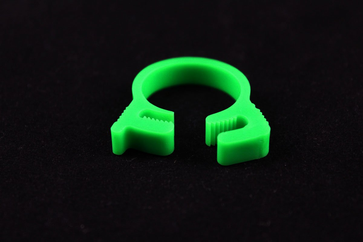 "5/8"" OD Reusable Clamp - Green"