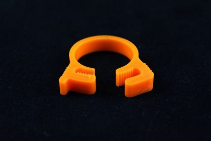 "5/8"" OD Reusable Clamp - Orange"