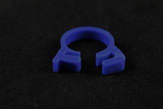 "5/8"" OD Reusable Clamp - Blue"