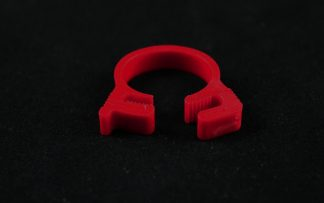"5/8"" OD Reusable Clamp - Red"