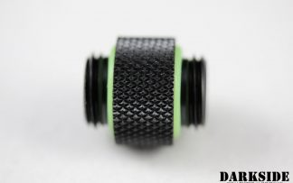 10mm Spacer Adapter - Male-Male G1/4 - Black