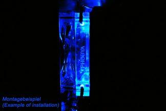 Radiator shroud 20mm for 120mm fans (plexi)