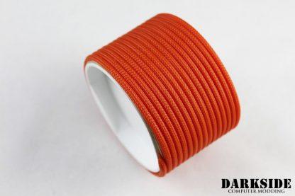 """5/32"""" (4mm) DarkSide HD Cable Sleeving - Orange II"""