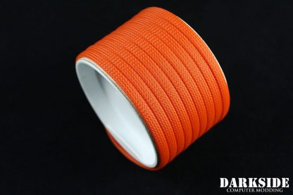 """1/4"""" ( 6mm ) DarkSide High Density Cable Sleeving - Orange II-2"""