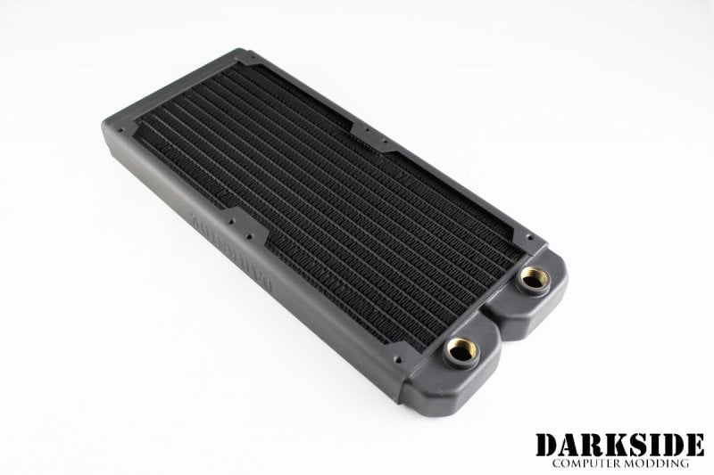 SECOND QUALITY- Dual LP240 Extra Slim Radiator