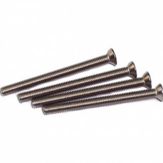 Radiator screws M3 x 30mm flat head (4 pieces)