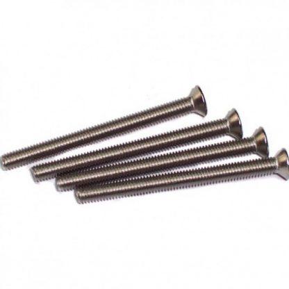 Radiator screws M3 x 35mm flat head (4 pieces)