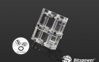 Bitspower VGA SLI/Crossfire Bridge For 3 Slots Application - Acrylic