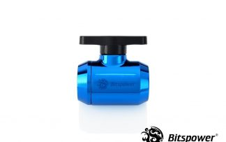 Royal Blue Mini Valve With Black Handle
